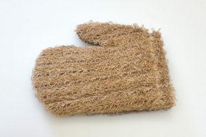 рукавица комбинированная джутовая и полипропиленовая